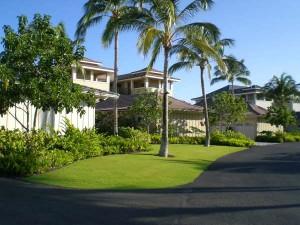 Inside Condo Complex - Vacation Rental In Hawaii