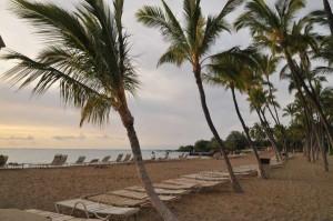 Anaeho'omalu Bay near by -Waikoloa Beach Resort on the Big Island of Hawaii