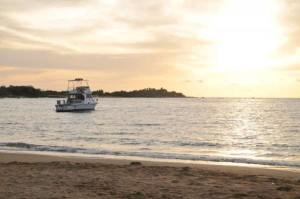 Boat In A-Bay - Waikoloa Beach Resort on the Big Island of Hawaii