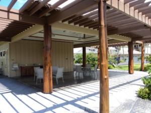 Patio by pool - Big Island Hawaii Vacation Rental
