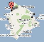 Google map of the Big Island of Hawaii
