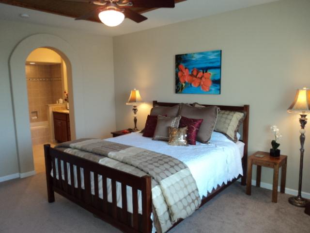 Master bedroom - Vacation Rental In Hawaii - Waikoloa