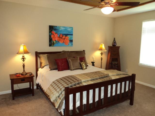 Master bedroom - Vacation Rentals In Hawaii - Waikoloa