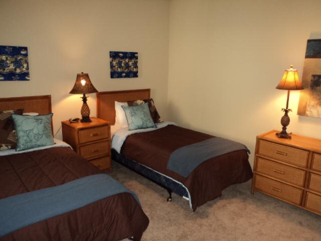 Second Bedroom of Condo Vacation Rental in Hawaii